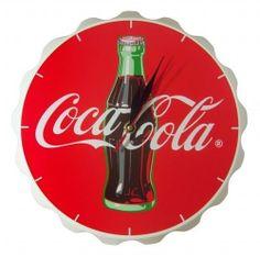 Coca Cola - Bottle Crown Wall Clock by coca-cola, http://www.amazon.co.uk/dp/B007X4PWZO/ref=cm_sw_r_pi_dp_.xpOsb1PVZFFR