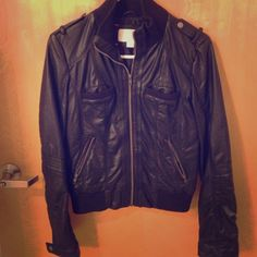 ‼️ SALE ‼️ Faux leather jacket Faux leather jacket! Only worn a handful of times, in excellent condition. Xhilaration Jackets & Coats
