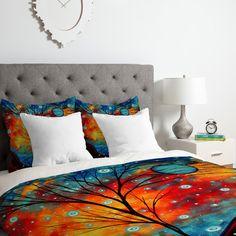 East Urban Home Madart Inc.Summer Snow Duvet Cover Set Size: Queen