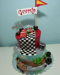 Cars cake — Birthday Cakes
