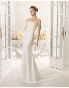 Kostel Krajkový vzhled Krajka Svatební šaty 2015