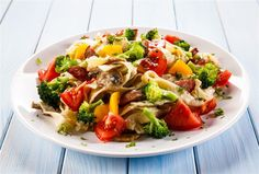 Broccoli and Beef Pasta