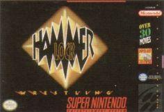 Wrestling game cover Art | File:HammerLockWrestlingBoxShotSNES.jpg