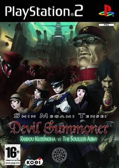 SHIN MEGAMI TENSEI: DEVIL SUMMONER [2007]. Raidou Kuzunoha is a private detective in Japan's Taishou Period of the 1910s and 1920s, but he's much more than just a well-dressed crime scene investigator; he also has the power to capture and conjure demons to do his bidding. Take control of Raidou and his otherworldly companions, guide them through thrilling episodes of action and intrigue, and learn the incredible secrets of the Soulless Army!