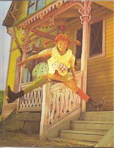 Pippi Langkous voor zijaanzicht Villa Kakelbont
