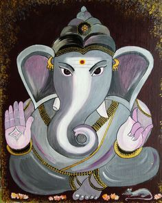 a. this is a picture of Ganesha, the god of success  b. it relates to Hinduism because it was one of the deities and would be considered in the top five of gods worshiped in Hinduism.  c. i found this interesting because usually gods are in human form but this god is in the form of an elephant.