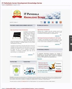 Software and IT industry has seen prominent growth and technology developments in past few years. Therefore, in order to streamline the operationshttp://www.itpathshala.com.