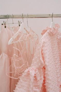 Cecilie Bahnsen operates at the intersection of couture and ready-to-wear to create luxury clothing with a relaxed, timeless style. Pastel Pink, Blush Pink, Mode Inspiration, Design Inspiration, Fashion Inspiration, Pink Quilts, Online Dress Shopping, Pink Aesthetic, Aesthetic Photo
