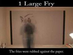 Fries Grease Painting - Goodbye Art