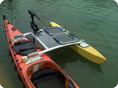Solar Powered Kayaks This is pretty cool. Take a look.