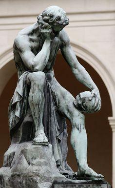 64 Trendy body art men photography black and white Renaissance Kunst, Greek Statues, Ancient Greek Sculpture, Buddha Statues, Greek Art, Classical Art, Aesthetic Art, Dark Art, Oeuvre D'art