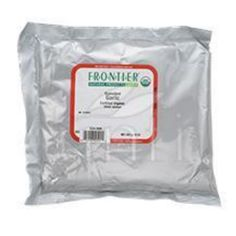 Frontier Herb Garlic - Organic - Granules - Bulk - 1 lb - Even the earliest cooks and healers considered garlic powerful and indispensable, but when it was introduced in the United States in the 1700s, garlic was slow to catch on. Today, however, the average American consumes over 2 1/2 pounds of garlic annually. Its compatible with virtually every savory food and is available in a number of convenient dried forms. Botanical Name: Allium sativum L.Product Notes: Garlic has a strong, sharp…