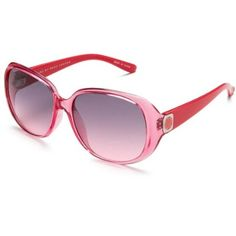 Marc by Marc Jacobs Women`s MMJ150 Sunglasses,Rose Frame/Grey Pink Lens,one size $85.00 @Amazon