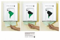 WWF: Paper Dispenser