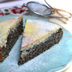 zdravy-makovec Healthy Sweets, Healthy Baking, Sweet Desserts, Sweet Recipes, Eastern European Recipes, Homemade Cakes, Food Cakes, Cookie Recipes, Sweet Tooth