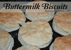 Buttermilk Biscuits and Sausage Gravy - The Crunchy Moose --- Simple ingreds with All Purpose flour