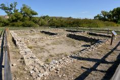 Ruins of El Cuartelejo, the northernmost pueblos constructed by the Taos Indians.