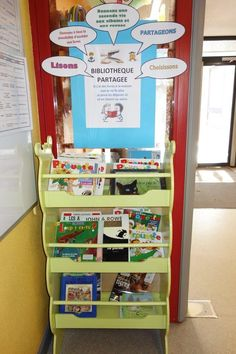 Biblioth Que De Classe Am Nagement De La Classe Affichage Pinterest Coins And Organizations
