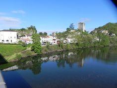 Luzech & the river Lot,(46).