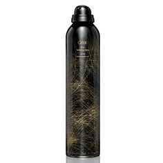 The Oribe Hair Care Dry Texturizing Spray builds texture while removing dirt and oil