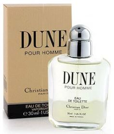 Christian Dior Dune Pour Homme for men is a naturally classic scent with a refreshing mix of basil, green fig trees, sage, and black currant. The glass bottle reproduces the ripple of a man's shoulder muscles and the curves of his back. Dior Dune, Glass Bottles, Perfume Bottles, Christian Dior Perfume, Green Fig, Perfume And Cologne, Cosmetics & Perfume, Message In A Bottle, After Shave