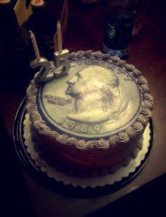What an amazing 25th birthday cake idea!