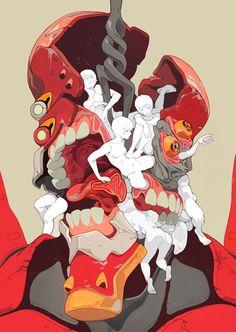 Sachin Teng Illustration | EVA