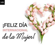 Se acerca el Día Internacional de la Mujer… Celébralo con todas las mujeres que te rodean. Mary Kay, Ladies Day, Slogan, Hair Colors, Women, Happy Woman Day, Happy Valentines Day, Life, Happy International Women's Day