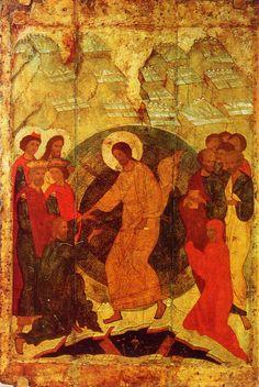 Christ Is Risen, He Is Risen, Saint Catherine's Monastery, Russian Icons, 12th Century, Fresco, The Past, Photo Wall, Spirituality