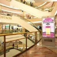 Do people really watch digital videos in malls?