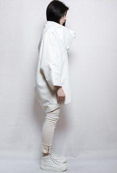 White fashion geometry