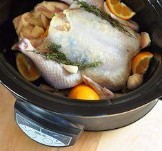 Easy Dinner Recipe: Slow-Cooker Lemon Garlic Chicken Recipes from The Kitchn Crock Pot Slow Cooker, Crock Pot Cooking, Slow Cooker Chicken, Slow Cooker Recipes, Crockpot Recipes, Cooking Recipes, Crockpot Dishes, Flour Recipes, What's Cooking
