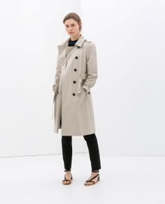 ZARA - WOMAN - DOUBLE-BREASTED TRENCH COAT