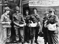 During the Vientam War, more than 7,000 women served, mostly as nurses in all divisions of the military: Army, Navy, Marines and Air Force. All are volunteers.