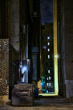 Alley off of 10th street, Downtown St. Louis