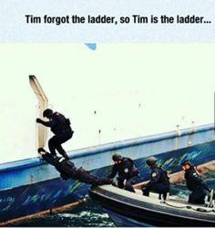 Poor Tim 😂