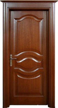 Interior Wood Doors – What You Must Look for While Buying Interior Wood Doors Wooden Front Door Design, Door Gate Design, Bedroom Door Design, Door Design Interior, Wood Front Doors, Home Design, Interior Doors, Modern Wooden Doors, Modern Door
