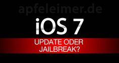 UMFRAGE: iOS 7 oder Jailbreak? - http://apfeleimer.de/2013/06/umfrage-ios-7-oder-jailbreak - iOS 7 steht vor der Tür und erste iOS 7 Beta-Versionen werden vermutlich im Dunstkreis der WWDC 2013 an Teilnehmer des Apple Developer Programms verteilt. Ein iOS 7 Jailbreakfür aktuelle Apple iDevices ist bislang leider noch lange nicht in Aussicht, daher stellt sich natürlich die Frage:...