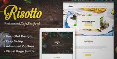 Download and review of Risotto - WordPress Restaurant & Cafe Theme, one of the best Themeforest Entertainment themes
