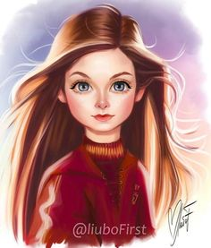 Ginevra Molly Weasley by I grouped the above mentioned questions in regards to the pencil drawing that I received … Harry Potter Fan Art, Mundo Harry Potter, Harry Potter Drawings, Harry Potter Tumblr, Harry Potter Characters, Harry Potter World, Ginny Weasley, Hermione Granger, Wallpaper Harry Potter