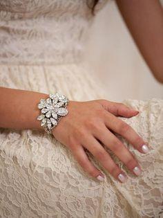 Bridal Bracelet, BRIDAL Cuff Bracelet, bridal Accessories , Rhinestone Cuff Bracelet, Sparkle ,Wedding Bracelet ,Jewelry on Etsy, $70.52 AUD