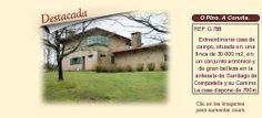 G788 O Pino. A Coruña.  Casa señorial en venta.  Esta propiedad también se ofrece en alquiler como localización para rodajes, publicidad,  eventos y celebraciones