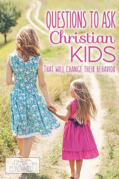 3 Discipline Questions for Christian Kids: how to guide our children to God's Word when they make wrong choices.