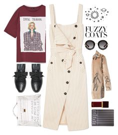 """""""brr...?!"""" by bartivana ❤ liked on Polyvore featuring Altuzarra, Max&Co., Hermès, Tom Ford, Shrimps and Gucci"""