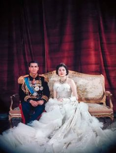 Queen Soraya wedding - Shah of Iran