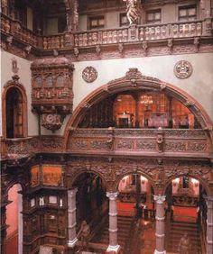 Wonderful room in Peles Castle in Romania.