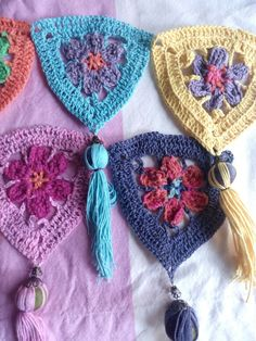 Banderines a crochet