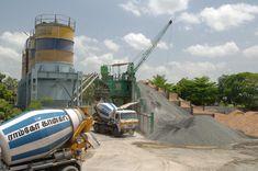 Ready mix concrete plant India