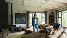Survivor NZ contestant Tara Thorowgood's favourite pieces of furniture in her eclectic home are the two couches she had made 12 years ago.