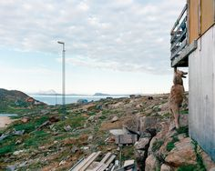 "'Qimmeq, Nuussauq, 07/2006 74°06'36"" N, 57°03′ 32″ W.' © Olaf Otto Becker. Image courtesy of Huxley-Parlour Gallery."